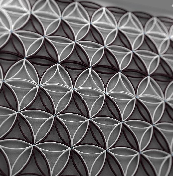 The Flower Of Life Modular Design Velichko Velikov