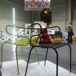 Torro chair exhibited in Sofia at Cherga stand