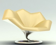 Gramophone lounge chair