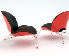 The Kiss chair