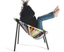 The LASTIKA armchair for LAGO